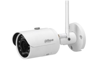 dahua IPC-HFW1120S-W 1.3MP IR Mini-Bullet Wi-Fi Network Camera