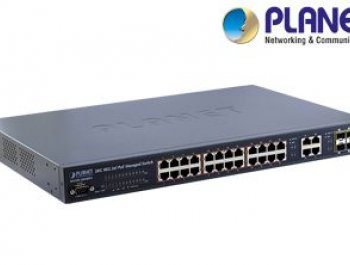 Ankara Switch Modelleri 24-Port 10/100Mbps FGSW-2620VMP4
