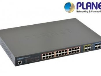 L2+ 24-Port 10/100/1000Mbps Switch