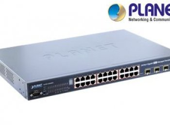 24-Port Gigabit PoE Managed Switch