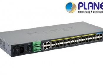 24-Port 100/1000Base-X Metro Ethernet Switch