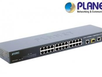 24-Port 10/100Base-TX Web Smart Switch