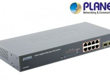 8-Port Web/Smart Gigabit PoE Switch