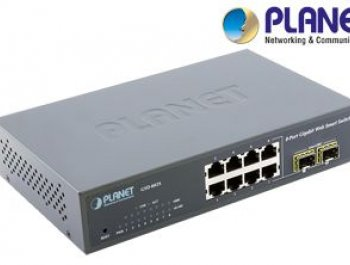 8-Port Web/Smart 1000Base-T Switch