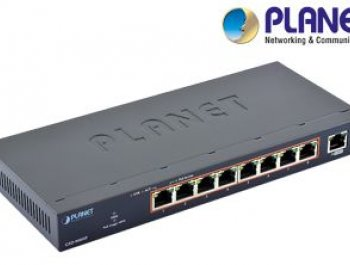 Planet Switch GSD-908HP 8-Port 10/100/1000T