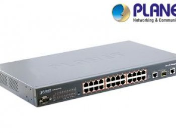 24-Port PoE Ethernet Switch - Ankara
