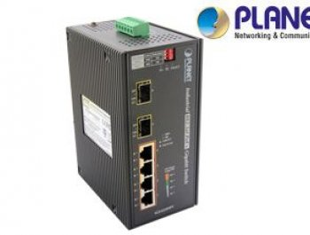 Industrial 4-Port 10/100/1000T Ethernet Switch
