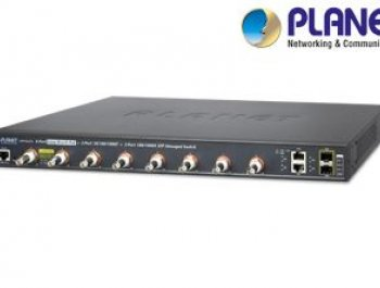 8-port Long Reach PoE Switch